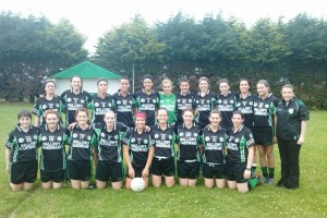 The victorious Killeavy ladies team!