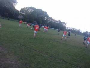 Action from Eire Og v Killeavy