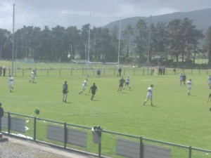 Action from the first ever Killeavy II v Dromintee II