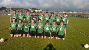 The Killeavy U16 team which faced St Peters on Thursday night.